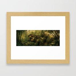 Dino Riders Framed Art Print
