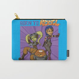 Born To Rebel Carry-All Pouch