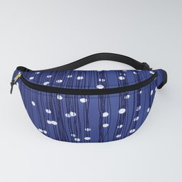 Dance of the Fireflies in Midnight Blue Sky Fanny Pack