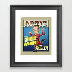 Artie! Framed Art Print