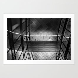 willy brandt haus Art Print