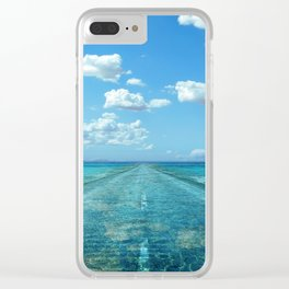 Ancient Road Clear iPhone Case
