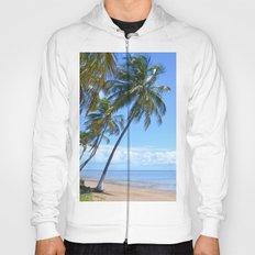 Palm trees and sea. Hoody