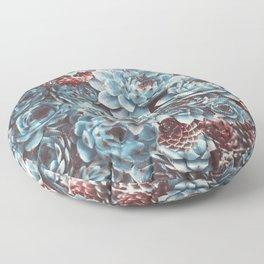 Sempervivum Succulents Floor Pillow