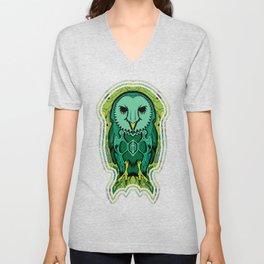 Psychedelic Owl Unisex V-Neck