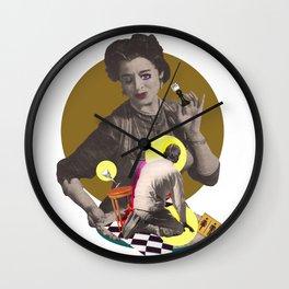 Serving Wall Clock