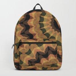 Ethnic ornament, kaleidoscope Backpack