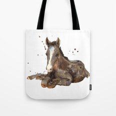 Horse painting, watercolor horse, horses Tote Bag