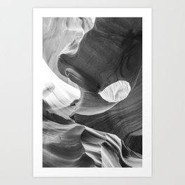 ANTELOPE CANYON XVIII / Arizona Art Print