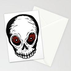 Evil Skull Stationery Cards