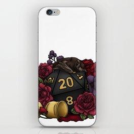 Vampire D20 Tabletop RPG Gaming Dice iPhone Skin