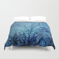 heaven Duvet Covers featuring Heaven by The Last Sparrow