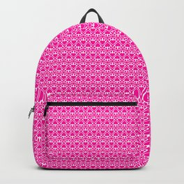Paw Prints on my Heart - in Magenta Backpack