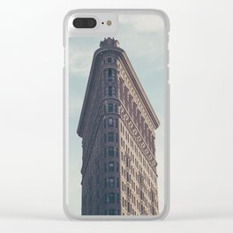 Flat Flat Iron - NYC Clear iPhone Case