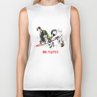 80s Biker Tanks featuring 80s Babies by Heavy Rotation