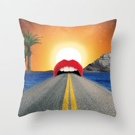 TRVL Throw Pillow