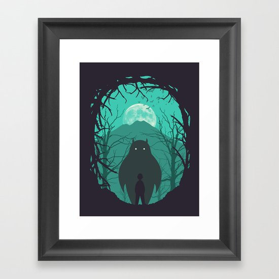 Scary Monsters and Nice Sprites Framed Art Print