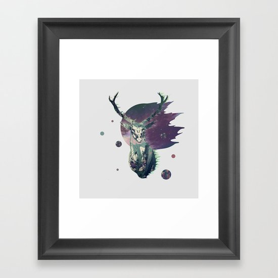 The Lord between Worlds Framed Art Print