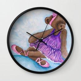 Darcy Bear Wall Clock