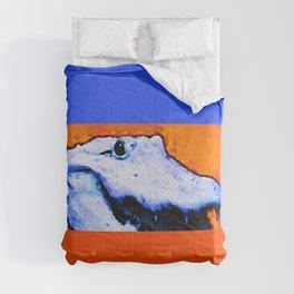 Gator Art - Swampy - Florida - Sharon Cummings Comforters