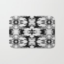 Tie Dye Blacks Bath Mat