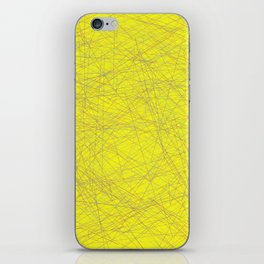 Yallow design iPhone Skin