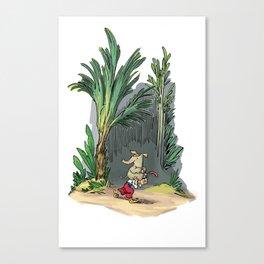 Carry Switcheroo Canvas Print