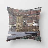 liverpool Throw Pillows featuring Liverpool by eams