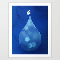 Drop in the Bucket Art Print