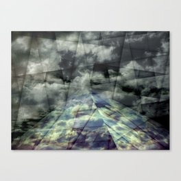 Scaffold Of Time Canvas Print