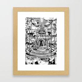 AL BUEN TIEMPO, MALA CARA Framed Art Print