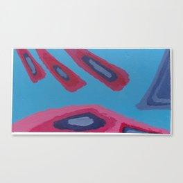 20 - Razing Rayz of Red & Other Grayz Canvas Print