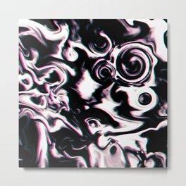 Scary Form Mind Metal Print