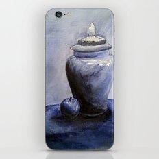 Blue Vase iPhone & iPod Skin