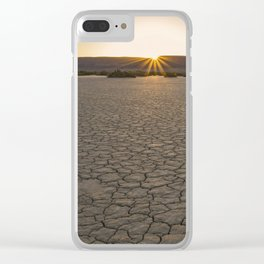 Alvord Desert Sunrise Clear iPhone Case