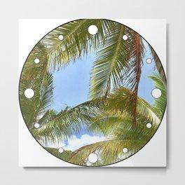 Tropic Breezes Metal Print