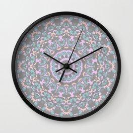 Boho Kaleidoscope 2 Wall Clock