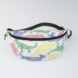 Dinosaurs in Color Fanny Pack