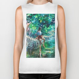 Dopamine Jungle Biker Tank