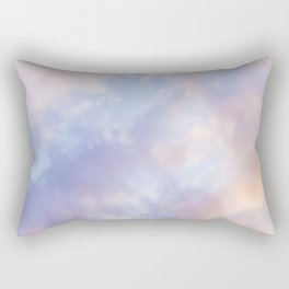 Pink sky / Photo of heavenly sky Rectangular Pillow