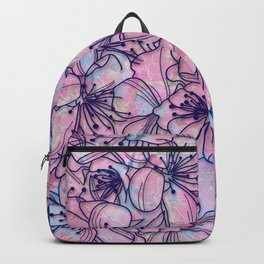 Over and Over Flowers 2 Backpack