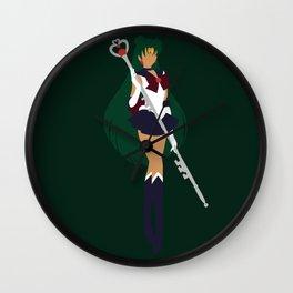 Sailor Pluto (Green) Wall Clock
