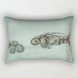 Balloon Fish Rectangular Pillow