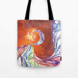 Blissful Harmony Tote Bag