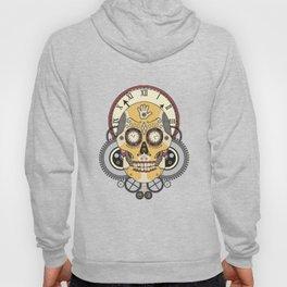Clock Skull Hoody