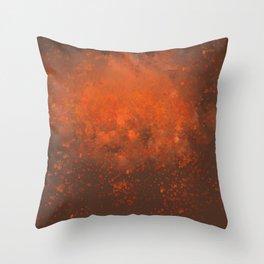 Spit Fire Throw Pillow