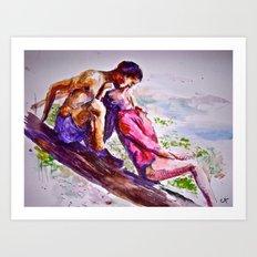 Summer Lovin' Art Print