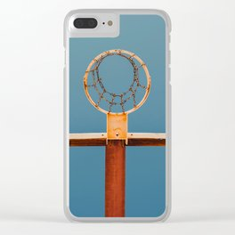basketball hoop 5 Clear iPhone Case
