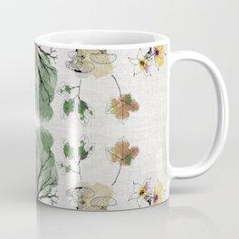 Tree Circle of Life Botanical Watercolor Coffee Mug