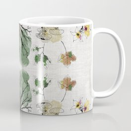 Tree Circle of Life Botanical Watercolor Coffee Mug